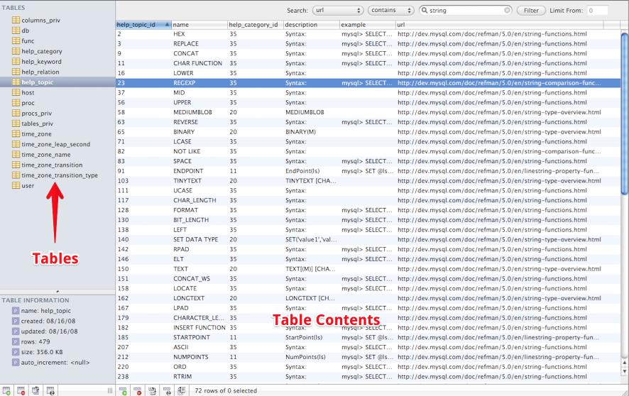 A Database